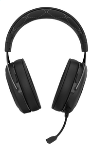 Corsair HS70 Wireless gaming headset carbon-Vooraanzicht