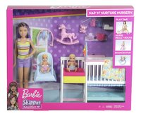 Barbie speelset Babysitter Skipper - Tweeling met kinderkamer-Vooraanzicht