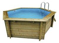 Ubbink piscine en bois Azura diamètre 4,10 m
