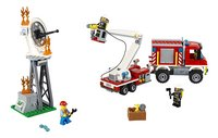 LEGO City 60111 Le camion d'intervention des pompiers-Avant