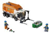 LEGO City 60118 Vuilniswagen-Vooraanzicht
