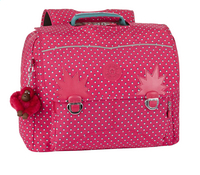 Kipling cartable Iniko Pink Summer Pop 40 cm