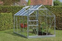 ACD Serre Intro Grow Ivy 5 m² met tuinbouwglas + fundering aluminium-Afbeelding 1