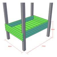 BnB Wood zandbak / kweektafel voor Nieuwpoort-Artikeldetail