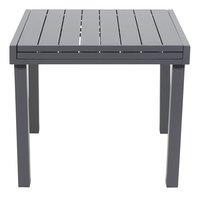 Table de jardin Modulo anthracite 90 x 90 cm-Avant