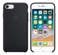 Apple cover iPhone 7/8 siliconen zwart-Artikeldetail