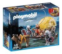 Playmobil Knights 6005 Camouflage hooiwagen van de Valkenridders-Vooraanzicht