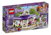 LEGO Friends 41336 Emma's kunstcafé-Linkerzijde