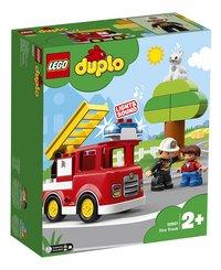 LEGO DUPLO 10901 Brandweertruck-Linkerzijde
