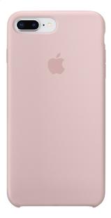 Apple coque en silicone pour iPhone 7 Plus/8 Plus Rose des sables-Avant