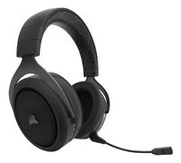 Corsair HS70 Wireless gaming headset carbon-Linkerzijde