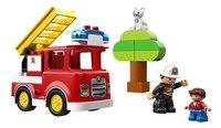 LEGO DUPLO 10901 Brandweertruck-Vooraanzicht