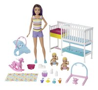 Barbie Baby-sitter Skipper - La chambre des jumeaux-Détail de l'article
