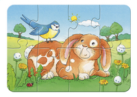 Ravensburger puzzel 4-in-1 My First Puzzles Schattige Huisdieren-Vooraanzicht