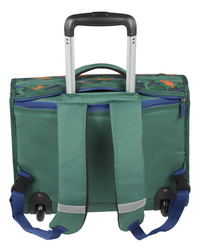 Kangourou trolley-boekentas Dino 44 cm-Achteraanzicht
