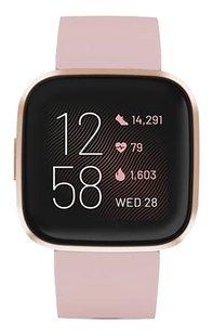 Fitbit smartwatch Versa 2 rosegold-Vooraanzicht