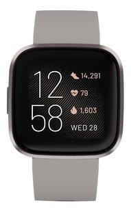 Fitbit smartwatch Versa 2 stone/mist-Vooraanzicht