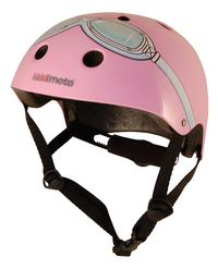 kiddi moto Kinderfietshelm Pink Goggle 48 - 52 cm