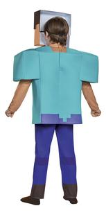 Verkleedpak Minecraft Steve deluxe-Achteraanzicht