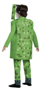 Verkleedpak Minecraft Creeper deluxe-Achteraanzicht