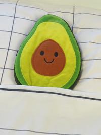Opwarmbare knuffel avocado-Afbeelding 1