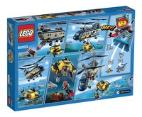 LEGO City 60093 Deep Sea Helicopter-Achteraanzicht
