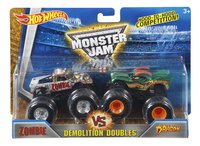 Hot Wheels Monster Truck Demolition Doubles Zombie VS Dragon-Vooraanzicht