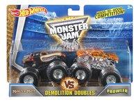 Hot Wheels Monster Truck Demolition Doubles Monster Mutt VS Prowler