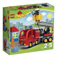 LEGO DUPLO 10592 Le camion de pompiers-Avant