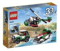 LEGO Creator 31037 Avontuurlijke voertuigen-Achteraanzicht
