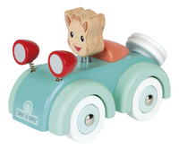 Janod La voiture en bois de Sophie la girafe-Côté droit