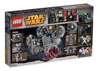 LEGO Star Wars 75093 Death Star Final Duel-Achteraanzicht