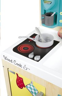 Smoby cuisine en bois vintage design-Image 3