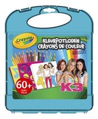 Crayola K3 Crayons de couleur - 60 pièces
