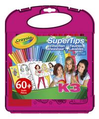 Crayola K3 SuperTips - 60 stuks