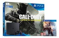PS4 Slim console 1 TB + Call of Duty Infinite Warfare + Battlefield 1