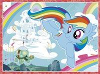 Ravensburger Puzzel 4-in-1 My Little Pony-Vooraanzicht
