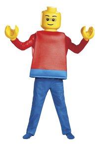 Verkleedpak LEGO mannetje deluxe-Vooraanzicht