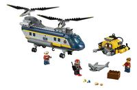 LEGO City 60093 Deep Sea Helicopter-Vooraanzicht