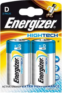 Energizer 2 D-batterijen High tech