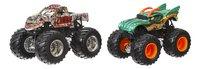 Hot Wheels Monster Truck Demolition Doubles Zombie VS Dragon-Vooraanzicht
