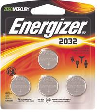 Energizer 4 CR2032-knopcelbatterijen