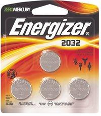 Energizer 4 piles bouton CR2032