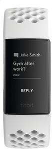 Fitbit activiteitsmeter Charge 3 HR aluminium/wit-Vooraanzicht