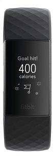 Fitbit activiteitsmeter Charge 3 HR aluminium/zwart-Vooraanzicht