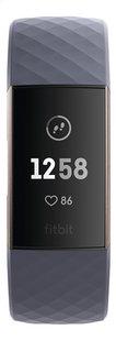 Fitbit capteur d'activité Charge 3 HR or rose/bleu ardoise-Avant