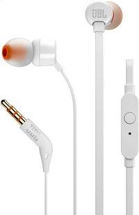 JBL écouteurs Tune 110 blanc-Avant