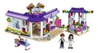 LEGO Friends 41336 Emma's kunstcafé-Vooraanzicht