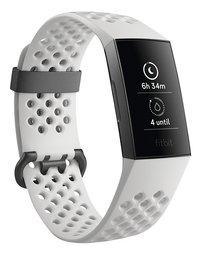 Fitbit activiteitsmeter Charge 3 HR aluminium/wit-Linkerzijde