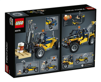 LEGO Technic 42079 Robuuste vorkheftruck-Achteraanzicht